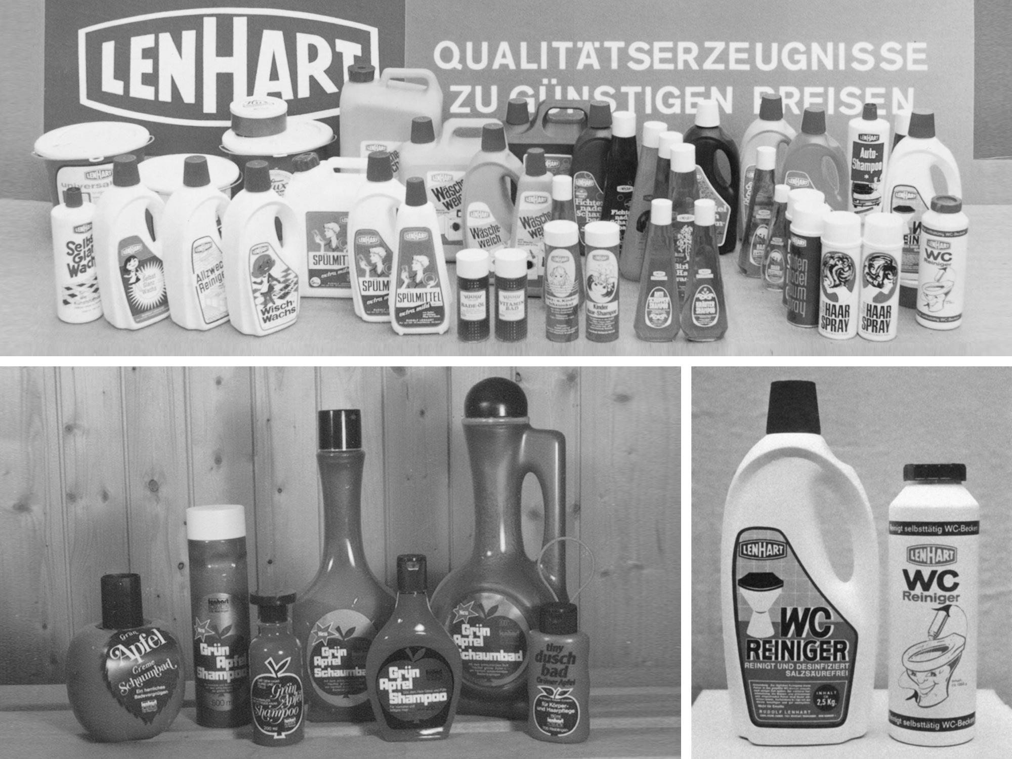 Lenhart Kosmetik Produkte der Vergangenheit